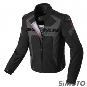 SPIDI GIACCA WARRIOR H2OUT NERO