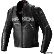 SPIDI GIACCA EVORIDER 2 LEATHER NERO