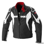 SPIDI GIACCA SPORT WARRIOR H2OUT NERO-BIANCO