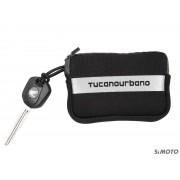 TUCANO PORTACHIAVI KEY BAG NERO