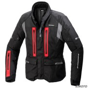 SPIDI GIACCA TRAVELER 3 H2OUT NERO-ROSSO