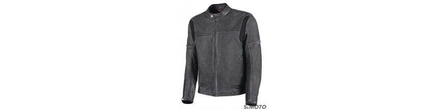HEVIK GIACCA MUSTANG LEATHER