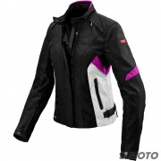SPIDI GIACCA FLASH H2OUT LADY NERO/FUCSIA